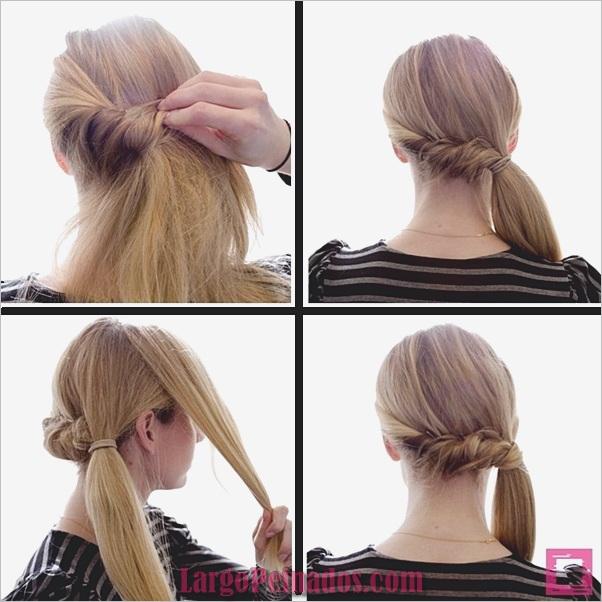 Peinados de cola de caballo laterales atractivos para niñas (20)