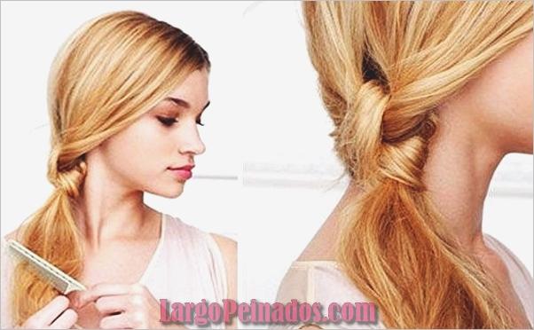 Atractivos peinados laterales de cola de caballo para niñas (29)