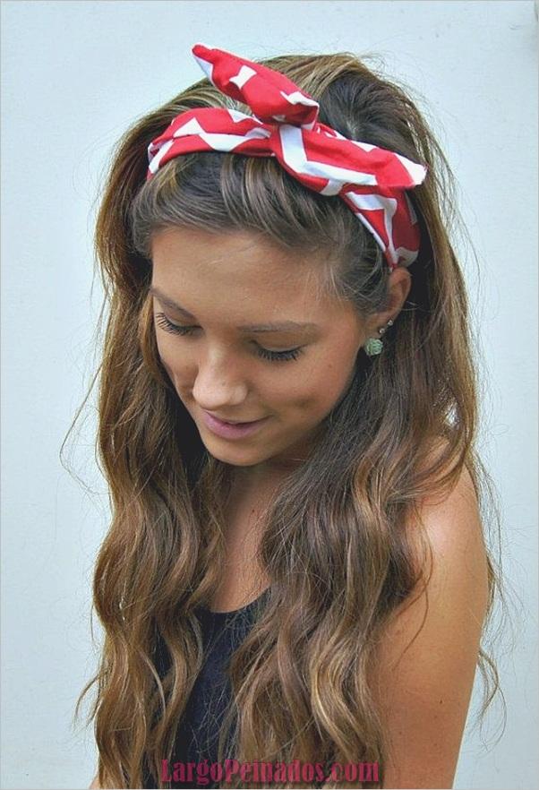 Últimos peinados simples para niñas para la escuela (9)