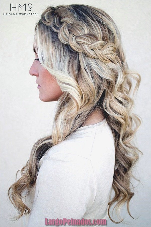 Peinados de primavera para cabello largo y mediano (9)