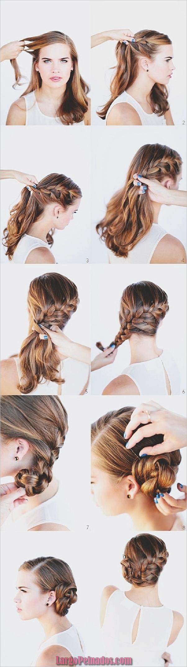 Peinados fáciles paso a paso para cabello largo16