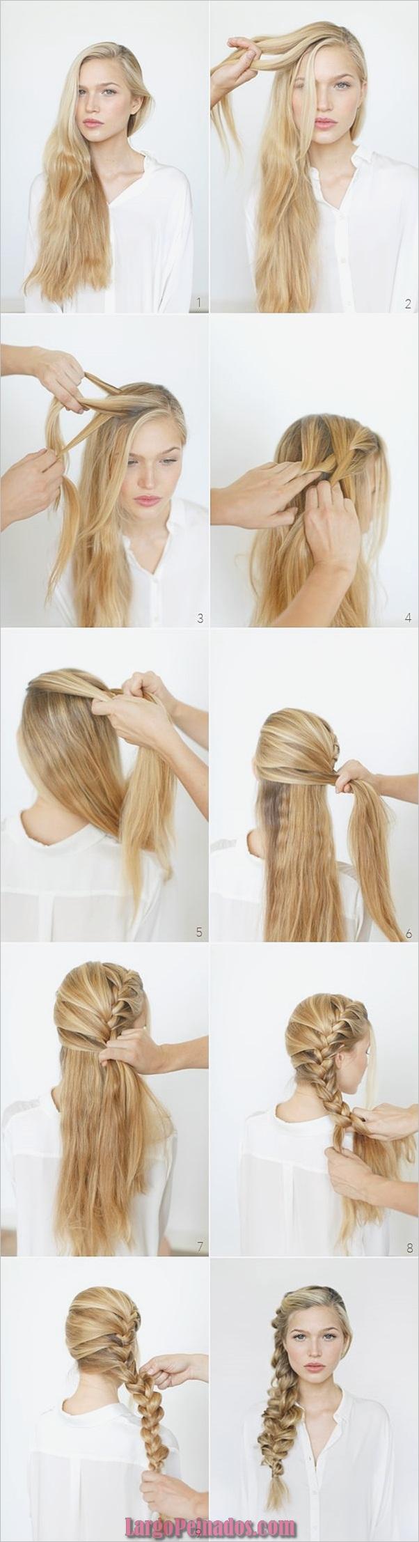 Peinados simples de cinco minutos (10)