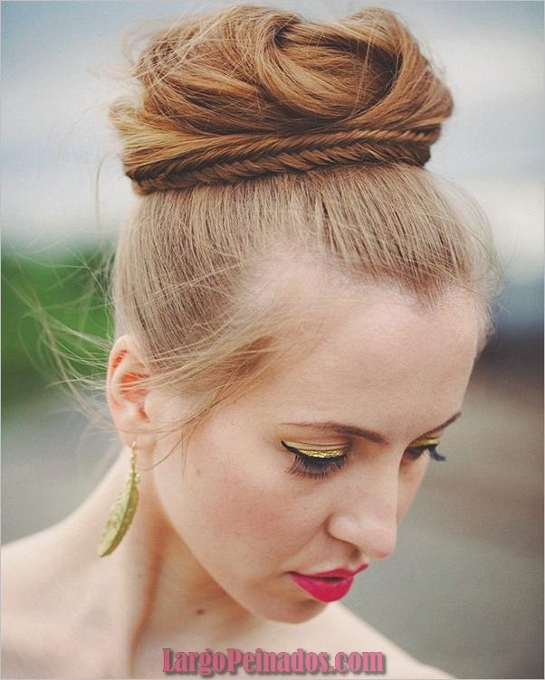 peinados de fiesta para cabello largo-32