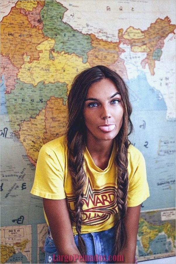 Peinados bohemios para mujer (6)
