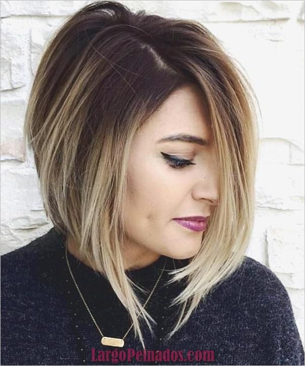 lindos peinados para caras largas 9