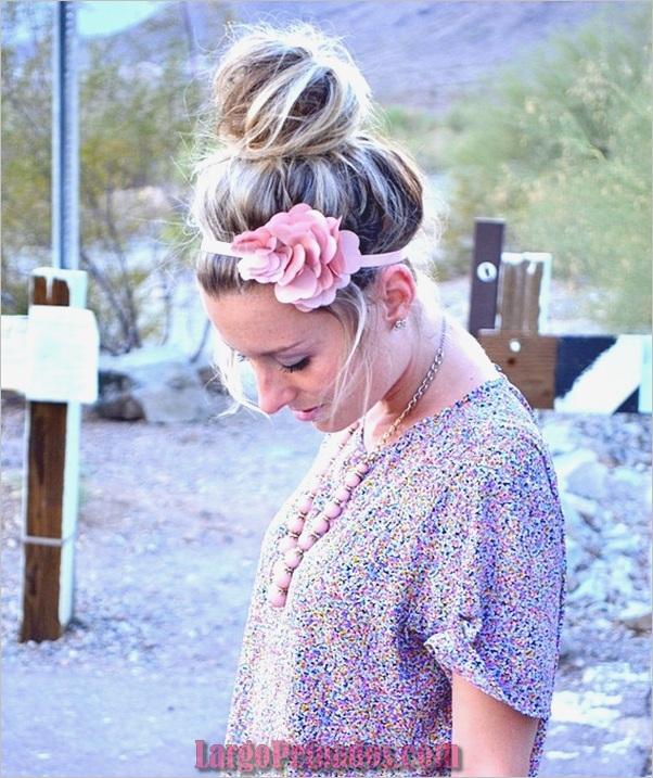 Peinados de Bollo Fácil para Mujeres (19)