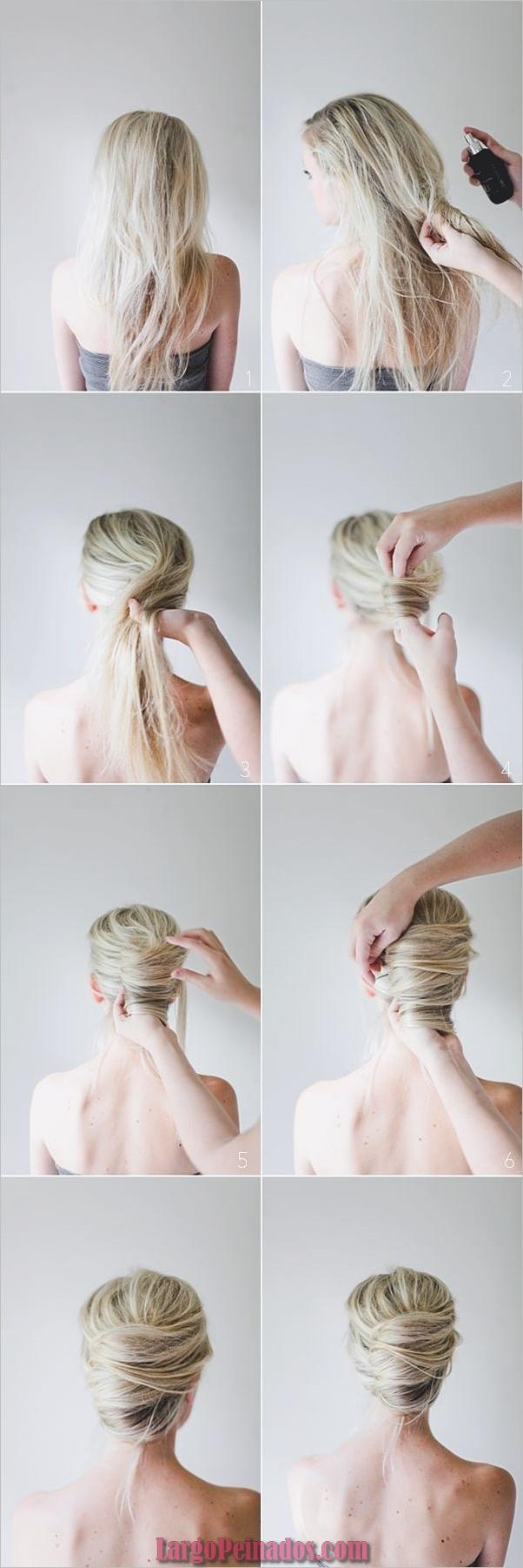Peinados sucios para cabello largo y corto1 (9)