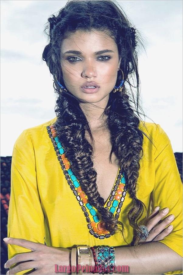 Peinados bohemios para mujer (9)
