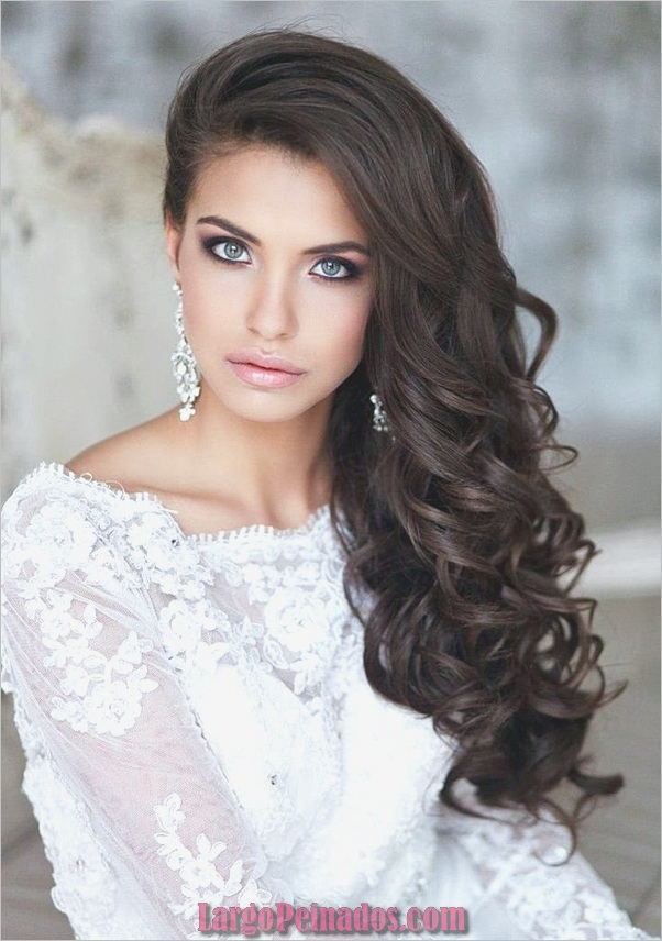Peinados de novia para cabello largo y corto1