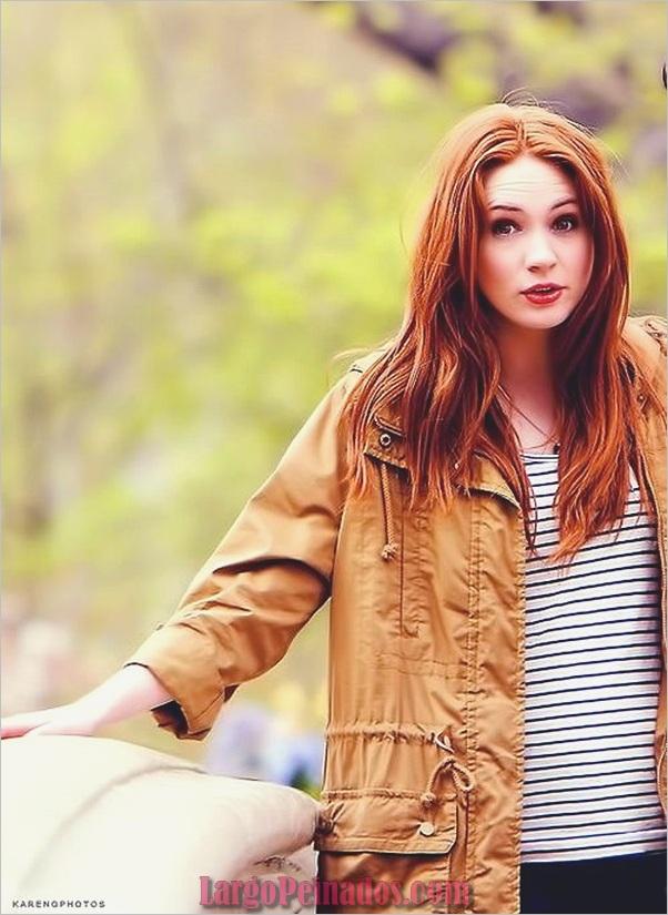 Ideas populares para el color del cabello en otoño (6)