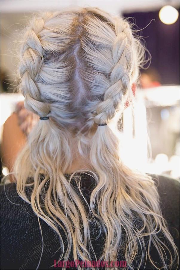 Peinados de primavera para cabello largo y mediano (8)