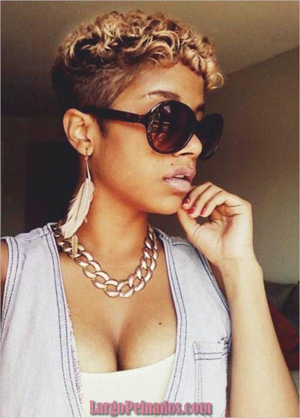 Peinados Rizados Cortos para Mujer Negra (5)