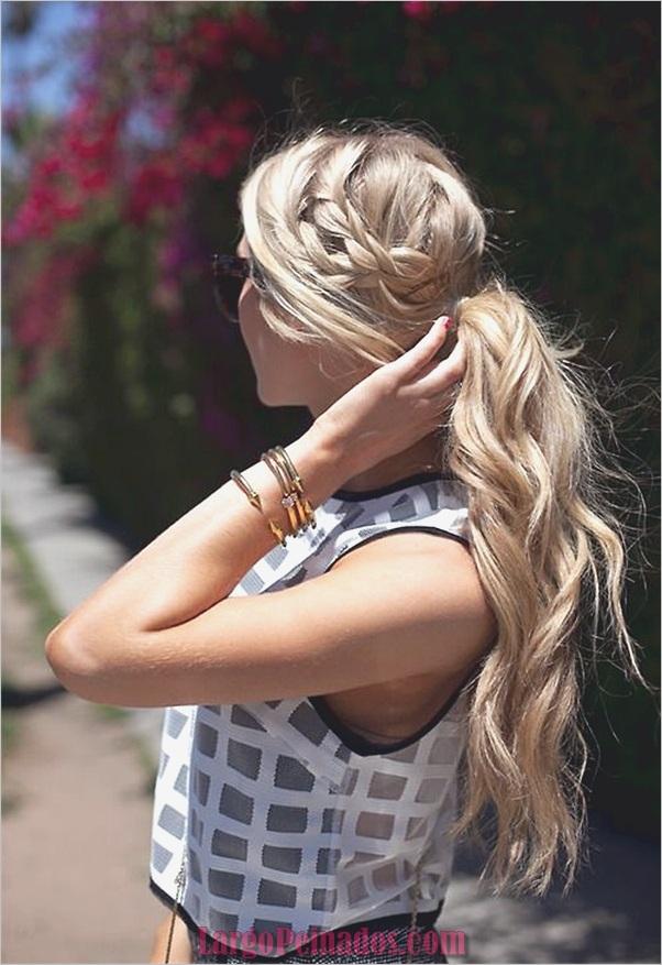 Peinados fáciles para cabello largo y grueso (3)