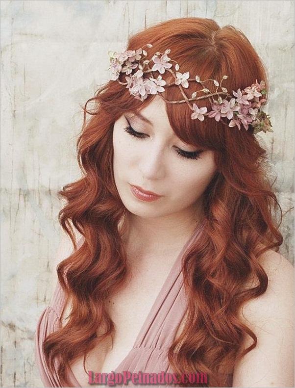 Peinados de novia para cabello largo y corto4