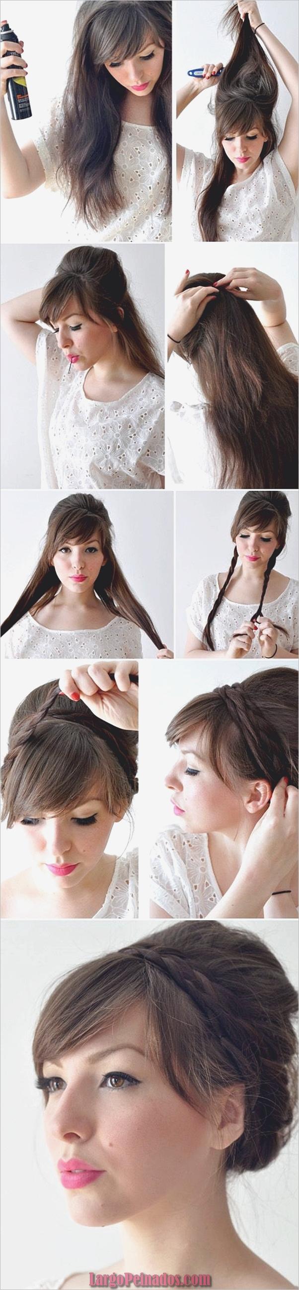 Peinados fáciles paso a paso para cabello largo10