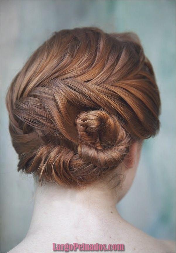 Peinados trenzados simples para cabello largo (9)