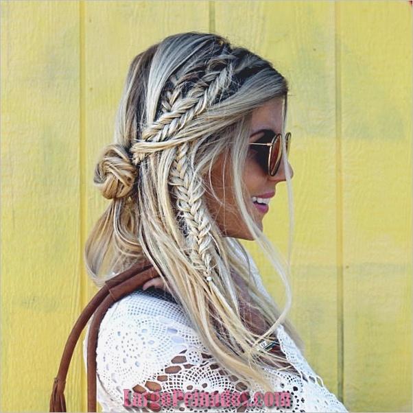 Peinados de primavera para cabello largo y mediano (10)