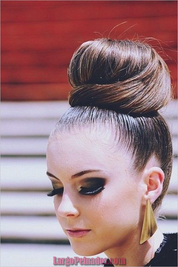 Peinados de Bollo Fácil para Mujeres (10)