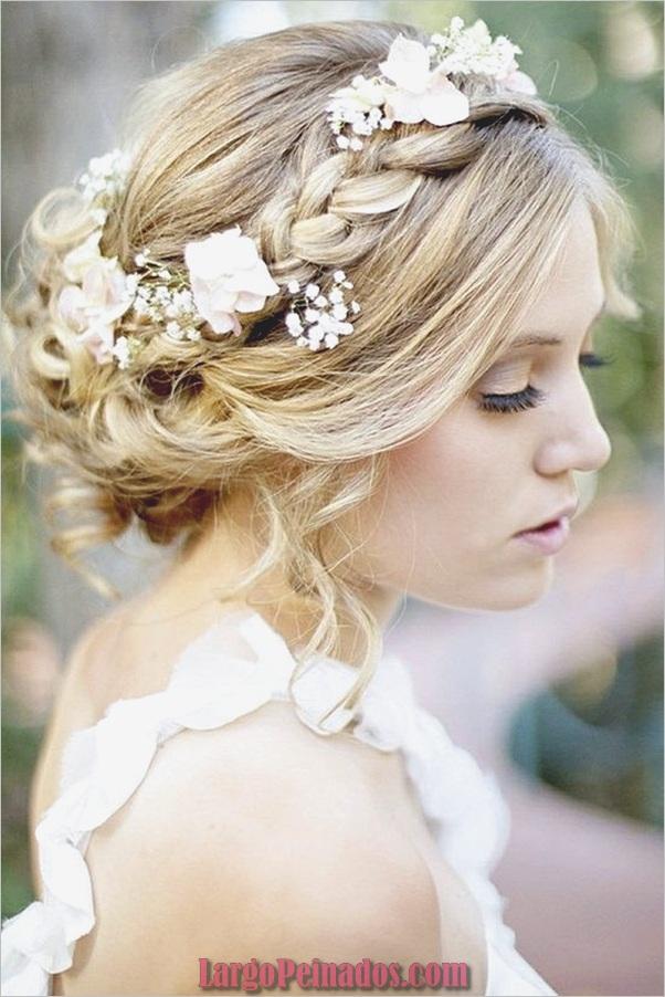 Peinados de novia para cabello largo y corto5