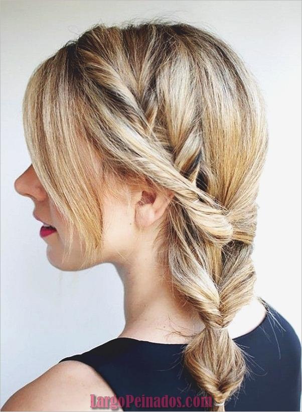 Peinados de cola de caballo laterales atractivos para niñas (27)