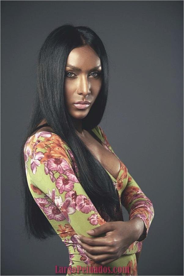 Peinados largos para mujeres negras (4)