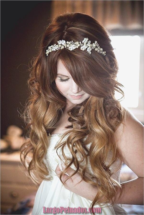 Peinados de novia para el pelo largo y corto3