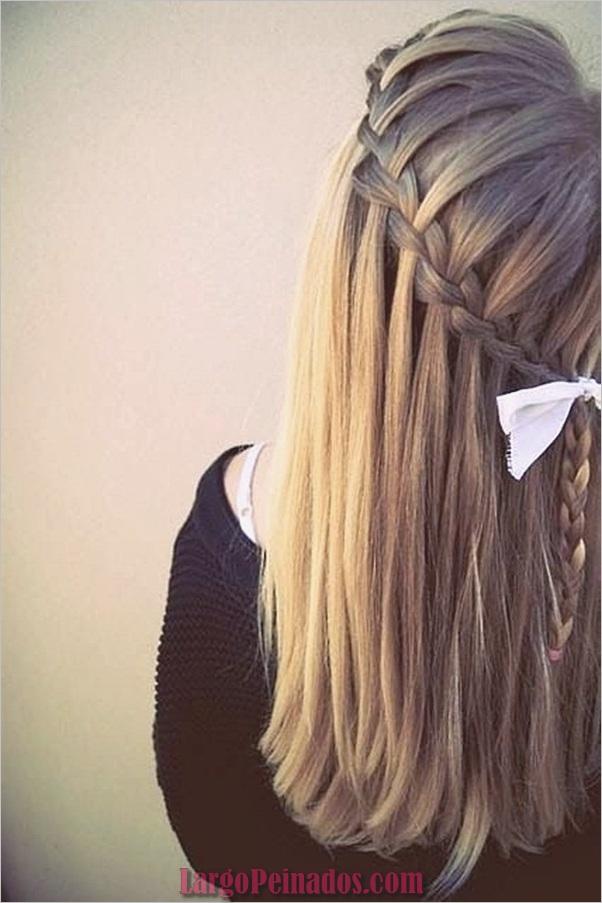 Peinados trenzados simples para cabello largo (5)