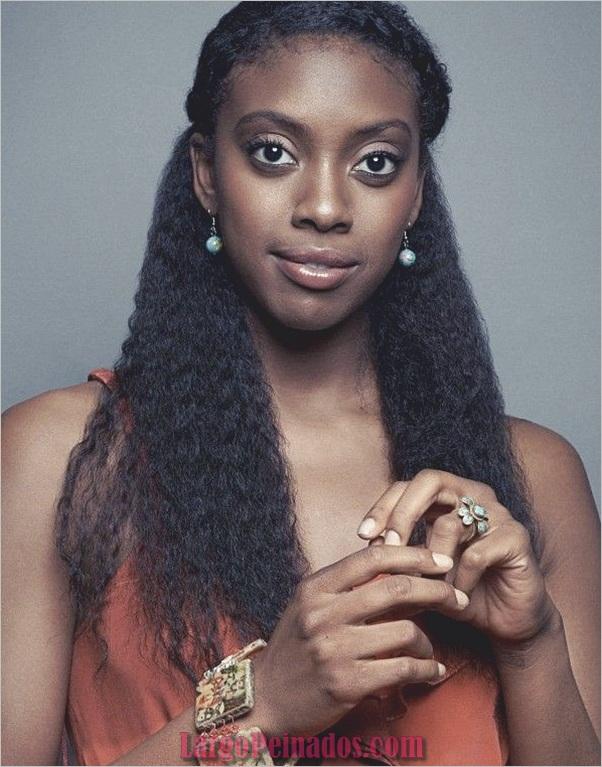 Peinados largos para mujeres negras (15)
