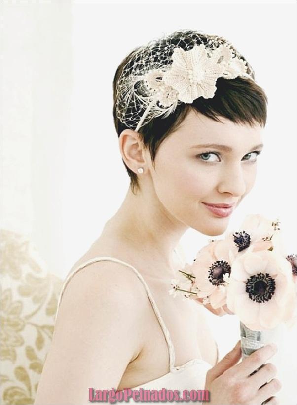 Peinados de novia para el pelo largo y corto5.1