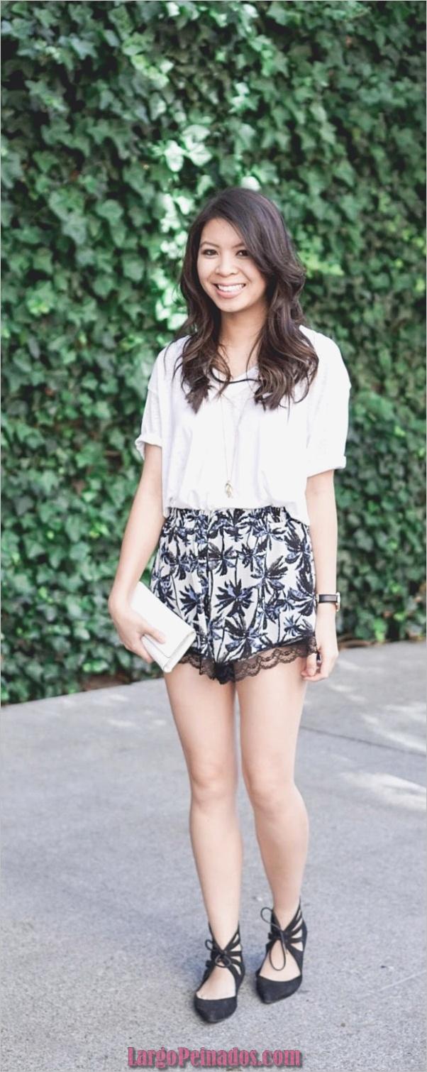 bonitos trajes-ideas-usando-una-camiseta blanca