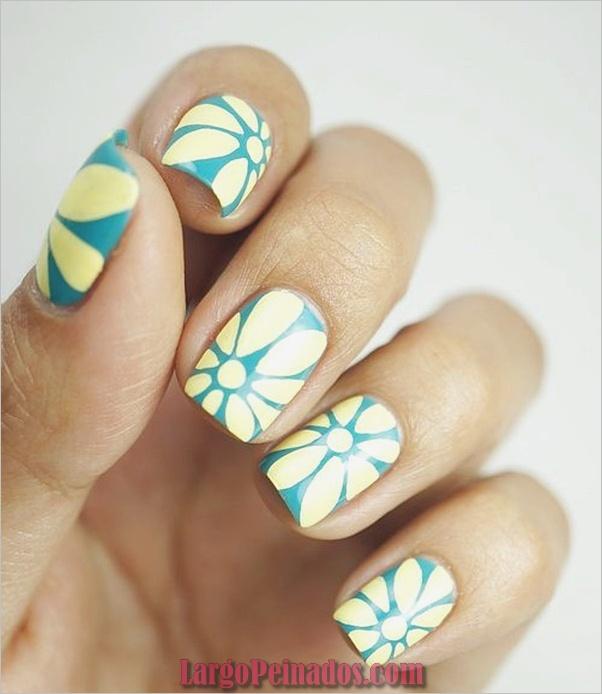 Diseños de arte de uñas fáciles para principiantes19.1