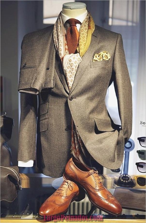 Trajes de estilo de moda para hombre13