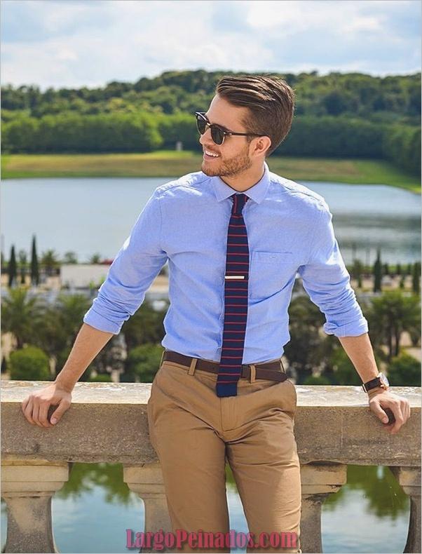 Trajes de estilo de moda para hombre24
