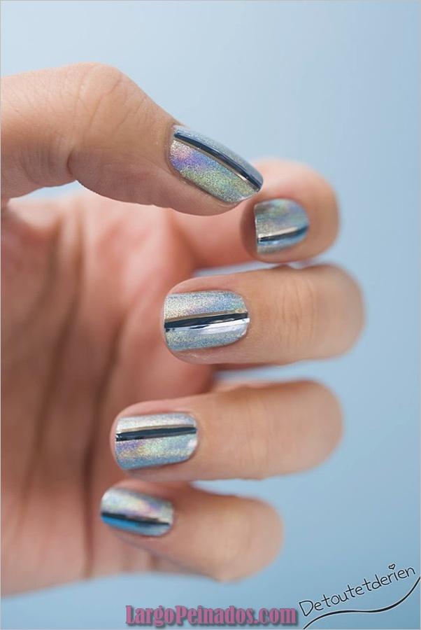 Ideas rápidas de arte de uñas para mujeres de oficina (3)