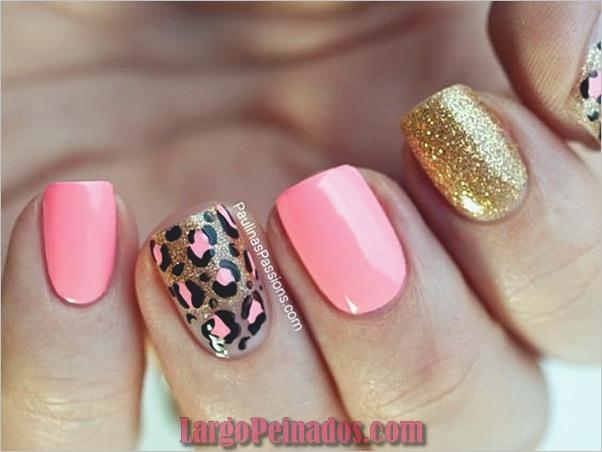 Estampado leopardo del arte de uñas (16)