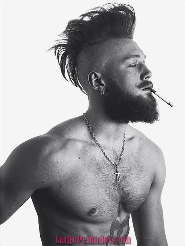 Nuevos peinados punk para hombres en 2019 (3)