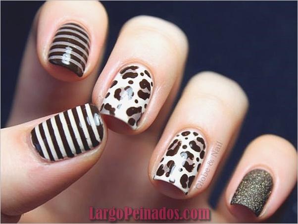 Estampados De Leopardo Del Arte De Uñas (8)