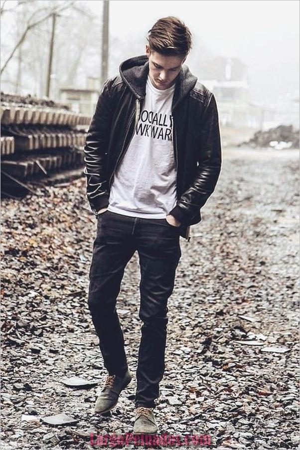 Trajes de moda de invierno para hombres en 2019 (22)