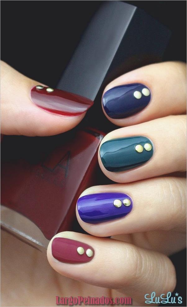 Ideas rápidas de arte de uñas para mujeres de oficina (14)