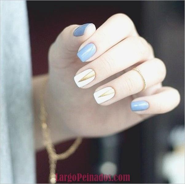 Diseños de arte de uñas blancas (24)