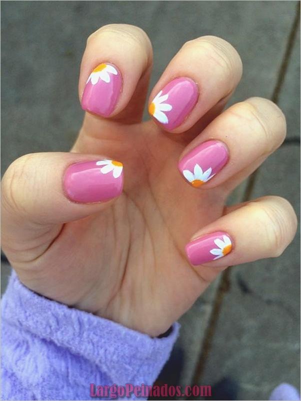 Ideas y diseños fáciles de esmalte de uñas (23)