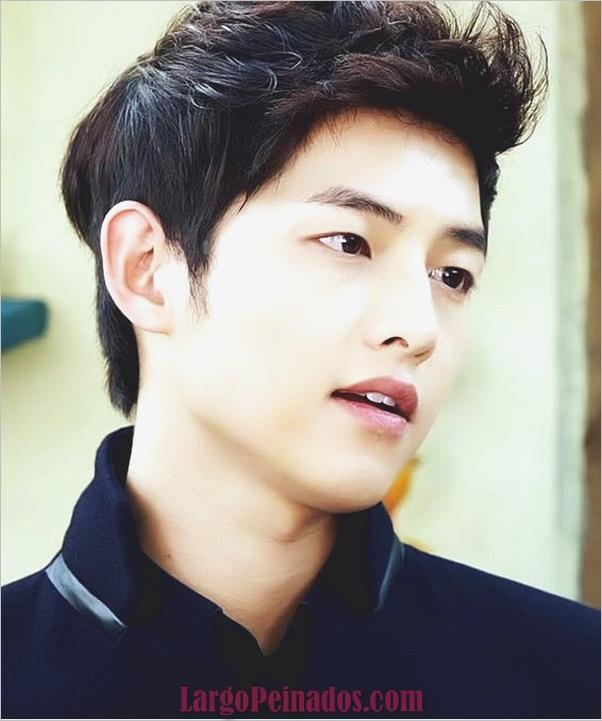 Los hombres coreanos peinados (15)