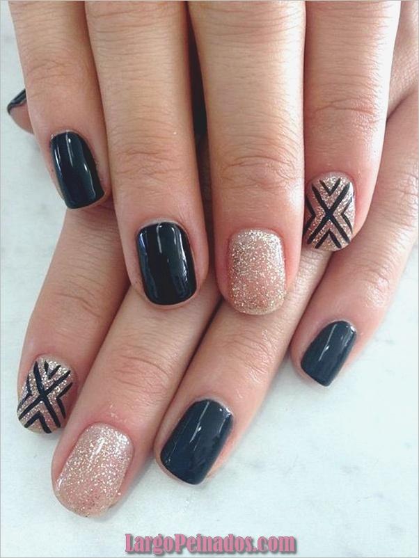Diferentes diseños e ideas de esmalte de uñas (21)