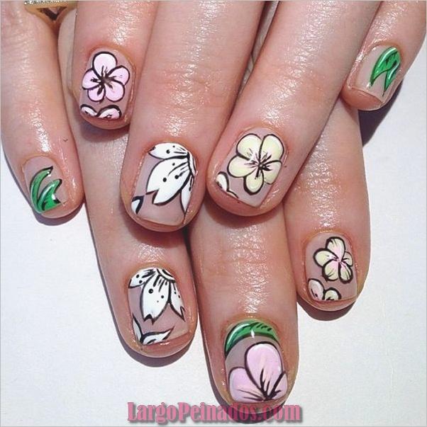Diseños de arte de uñas fáciles para principiantes25