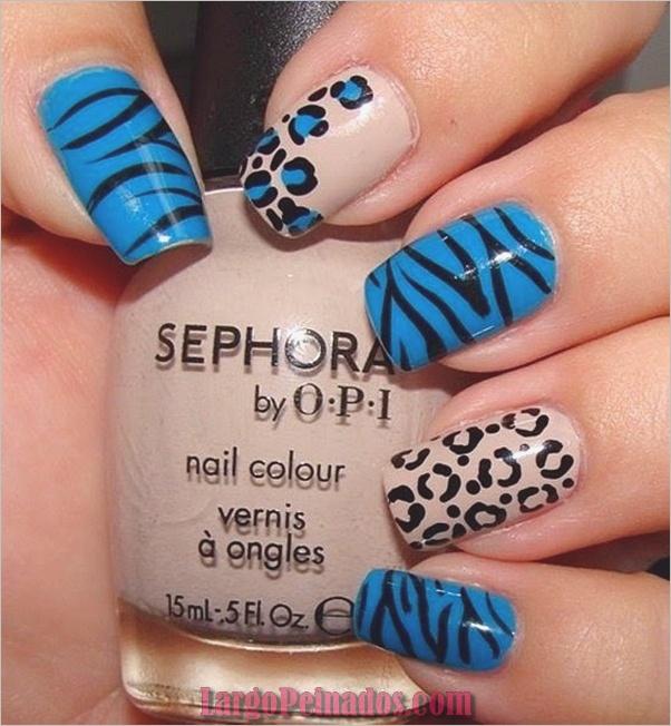 Estampados De Leopardo Del Arte De Uñas (3)