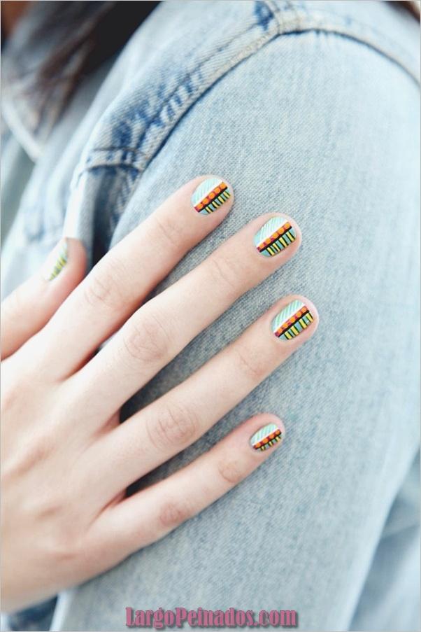 Ideas creativas y bonitas de diseños de uñas (4)