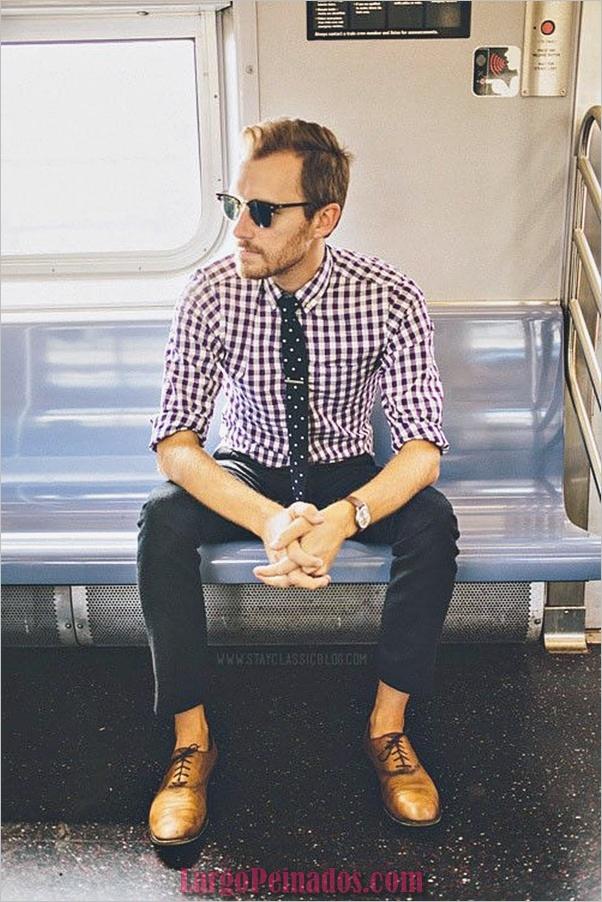Trajes de estilo de moda para hombre35