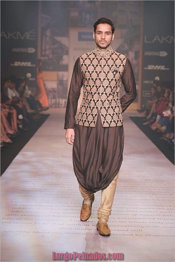 Vestidos y trajes indios elegantes7