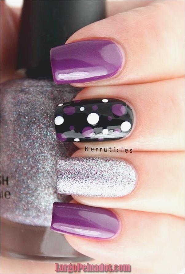 Diferentes diseños e ideas de esmalte de uñas (11)
