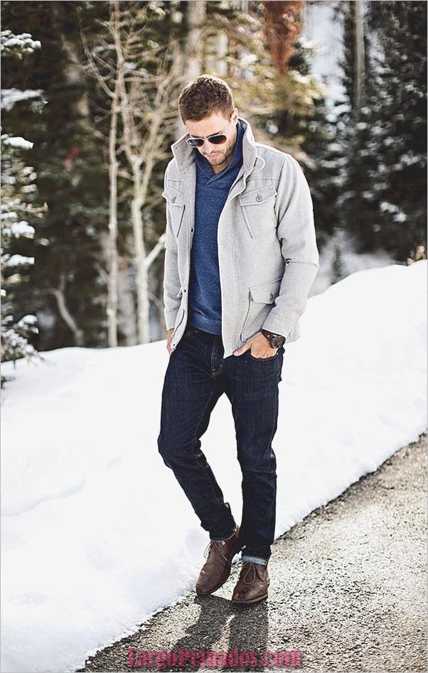 Trajes de moda de invierno para hombres en 2019 (21)